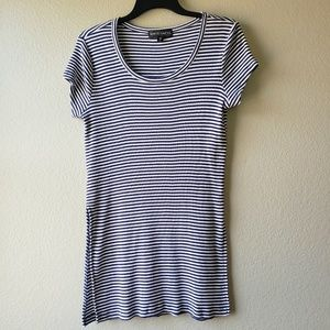 Almost Famous Striped Tunic Top
